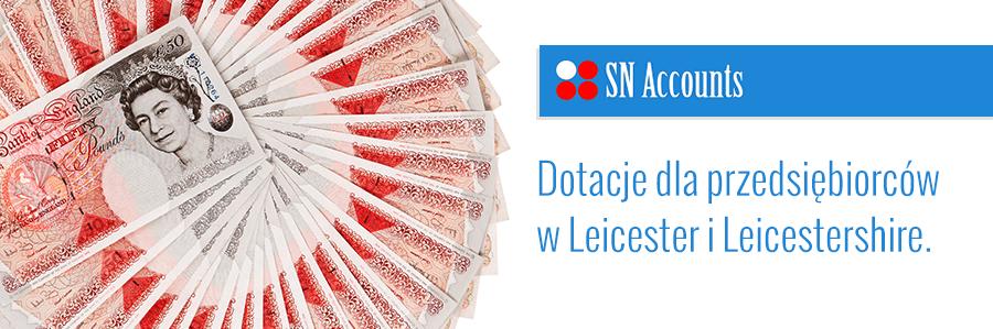 Dotacje dla przedsiębiorców w Leicester i Leicestershire