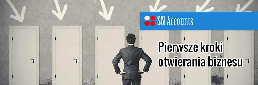 Pierwsze kroki otwierania biznesu