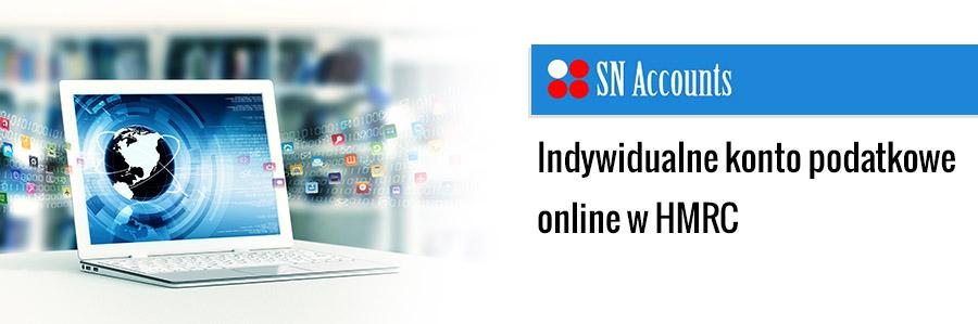 Indywidualne konto podatkowe online w HMRC