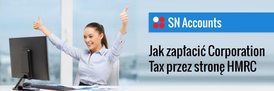 Jak zapłacić Corporation Tax przez nową stronę HMRC