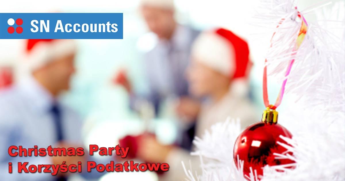 Christmas Party i Korzyści Podatkowe