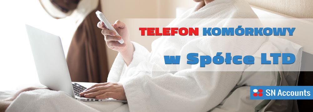 Telefon komórkowy w spółce LTD