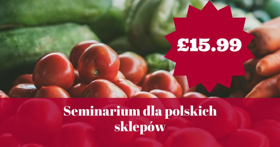 Seminarium dla polskich sklepów już w tę sobotę! Masz już swój bilet?