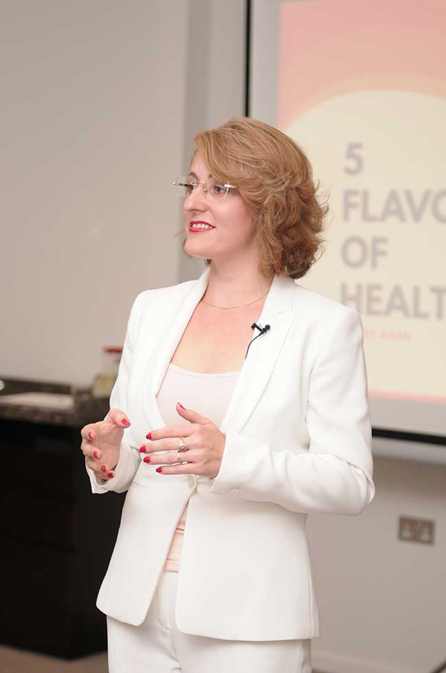 Agnes Khan - 5 flavours of health