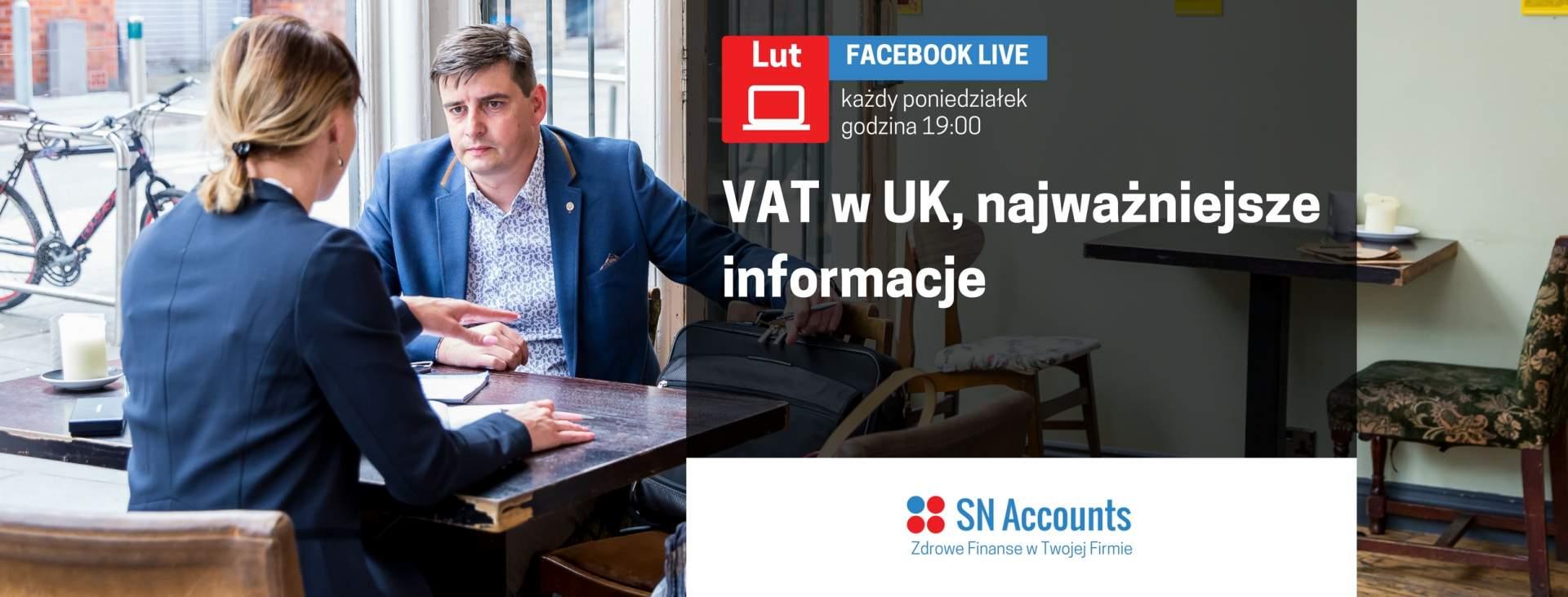 Stawki VAT w Wielkiej Brytanii