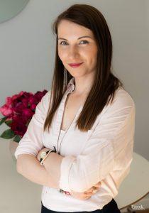 Joanna Ptasińska, specjalistka od home staging. Pomaga inwestorom szybko sprzedać nieruchomość w UK.