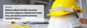 Koszty dla branży budowlanej