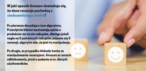 Jeżeli chcesz osiągnąć sukces na rynku e-commerce pamiętaj o legalnym pozyskiwaniu review. Jest to bardzo istotne zwłaszcza jeżeli działasz na Amazon