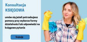 Nie wiesz jak otworzyć firmę sprzątającą - umów się na konsultację