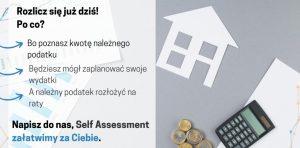 Jeśli starasz się o kredyt hipoteczny jako self employed już dziś możesz złożyć Self Assessment