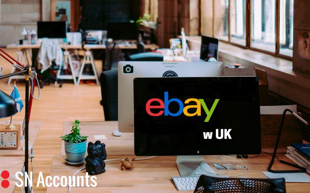 Jak sprzedawać na eBay w UK