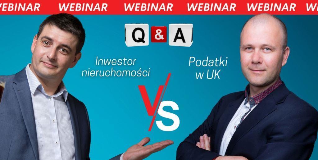Inwestor nieruchomości vs Podatki w UK